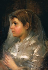 A Noiva, 1888, Oil on canvas, 61x43cm
