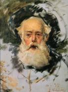 Cabeça de velho, 1895, Oil on canvas, 40.5x31.8 cm
