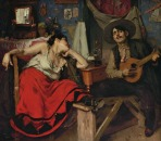 O Fado, 1910, Oil on canvas, 151x186 cm