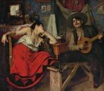 O Fado, 1910, Oil on canvas, 151x186 cm