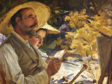 Os colegas, 1905, Oil on canvas, 52.5x43 cm