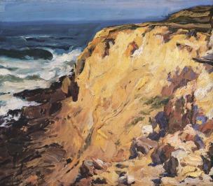 Praia Pequena, 1918, Oil on canvas, 50x63 cm