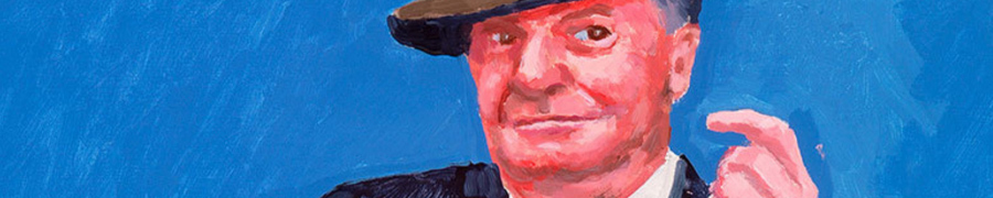 Royal Academy David Hockney RA 82 Portraits and 1 Still-life